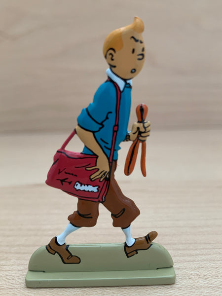 Flight 714 To Sydney Tintin Metal Relief Figure