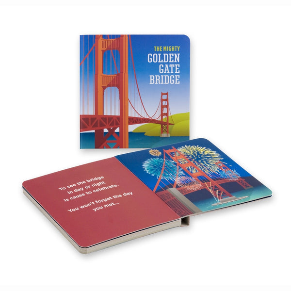 Meet The Mighty Golden Gate Bridge Board Book