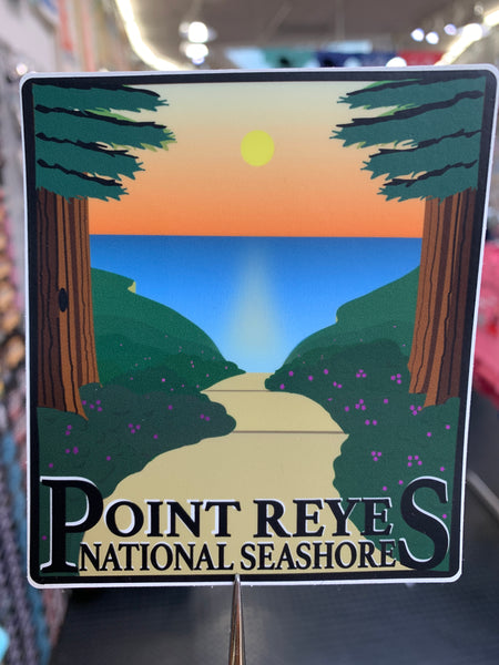 Point Reyes National Seashore Sticker