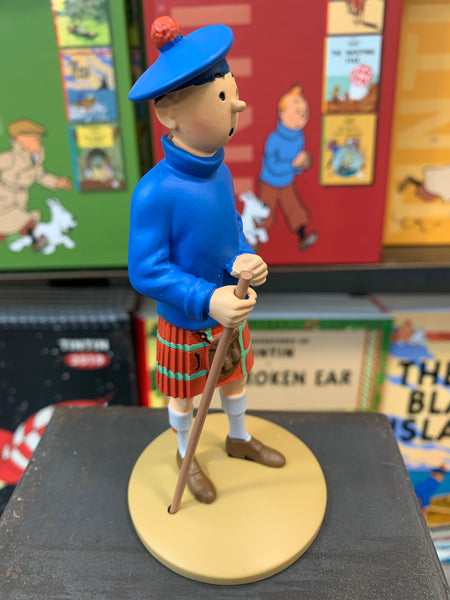 Tintin In Kilt Resin Figure From The Black Island.Ref 42192
