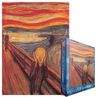 Eurographics The Scream Puzzle  1,000 pcs