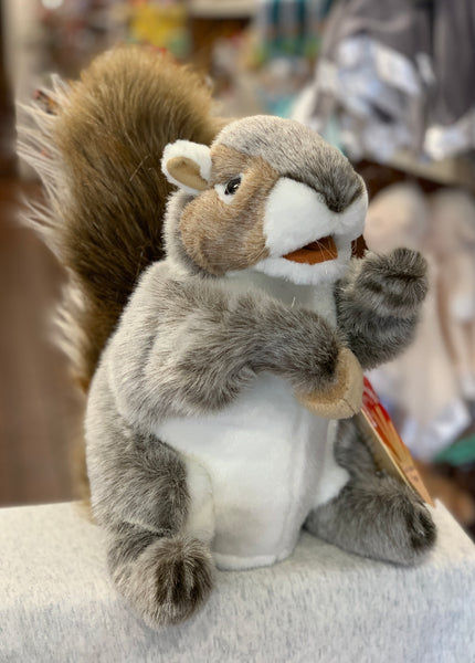 Folkmanis Gray Squirrel 12""