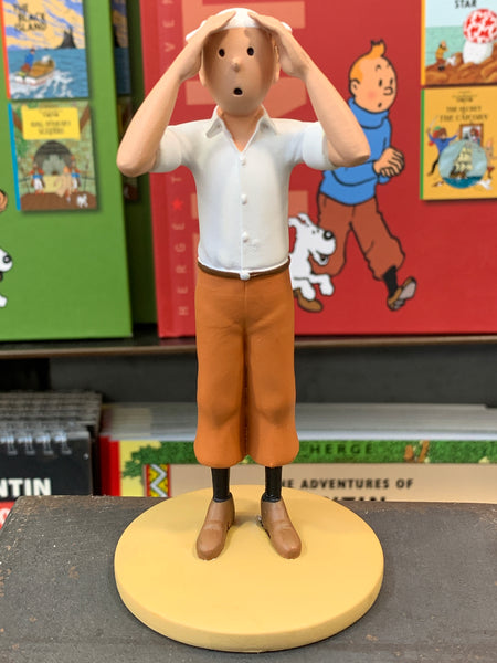 Tintin Resin Figure From The Crab With The Golden Claws. Ref 42193