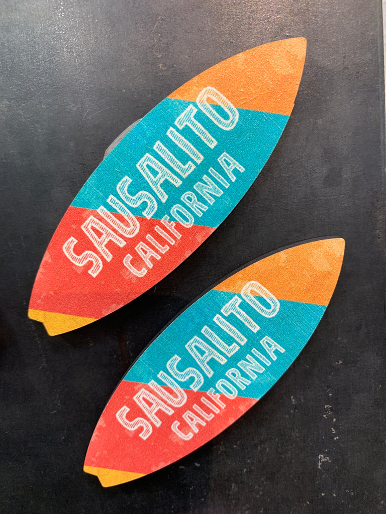 Sausalito Surf Board Magnet