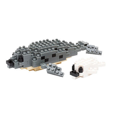 Nanoblock Spotted Seal