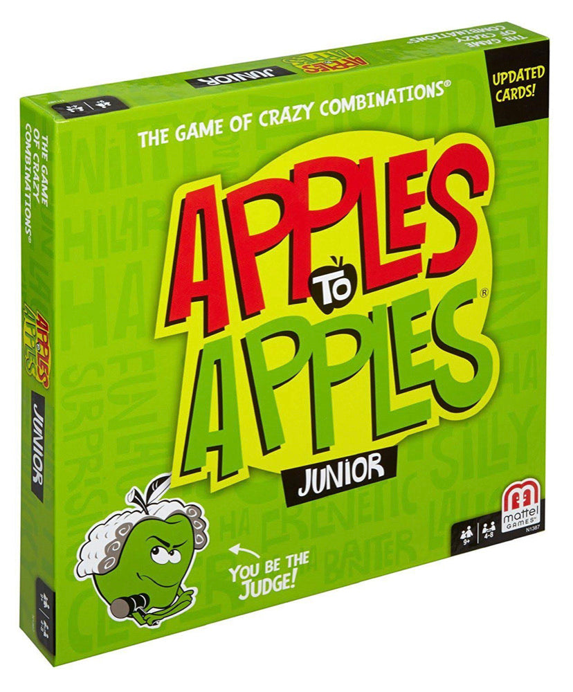 Apples To Apples Junior  The Game of Crazy Combinations