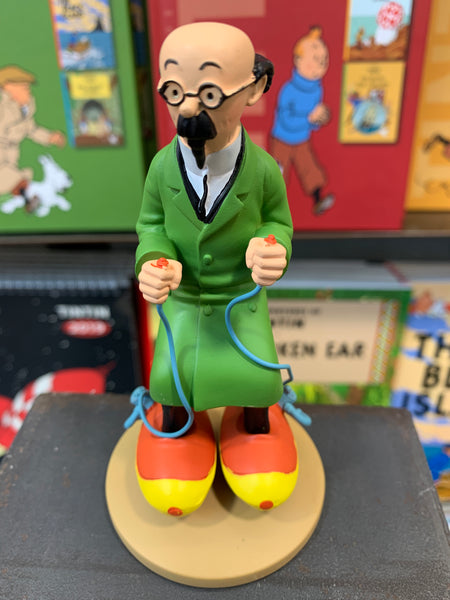 Professor Calculus With Motorized Skates Resin Figure Ref. 42197