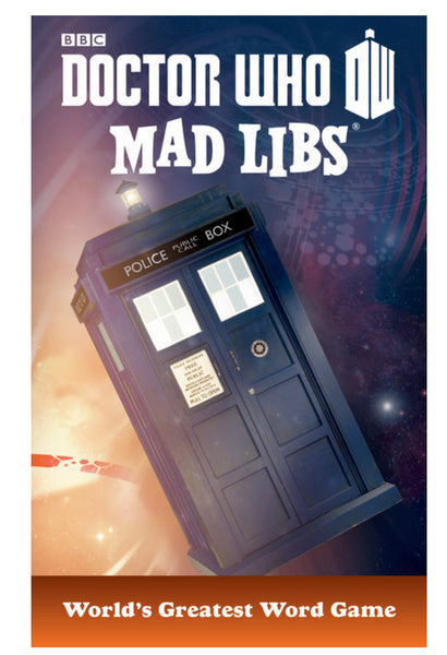 MAD LIBS Doctor Who