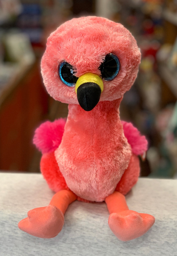 Ty Beanie Boo Medium Gilda Flamingo Plush 13""