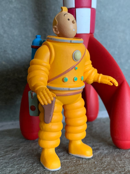 Tintin Moon Figure Mini Figure
