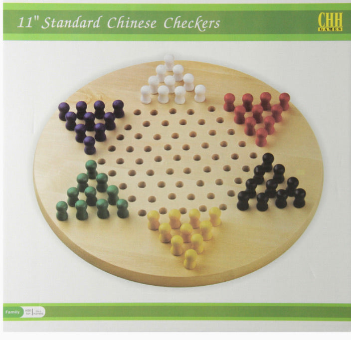 "Chinese Checkers 11"" Board"