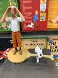 Tintin Resin Figure From The Crab With The Golden Claws