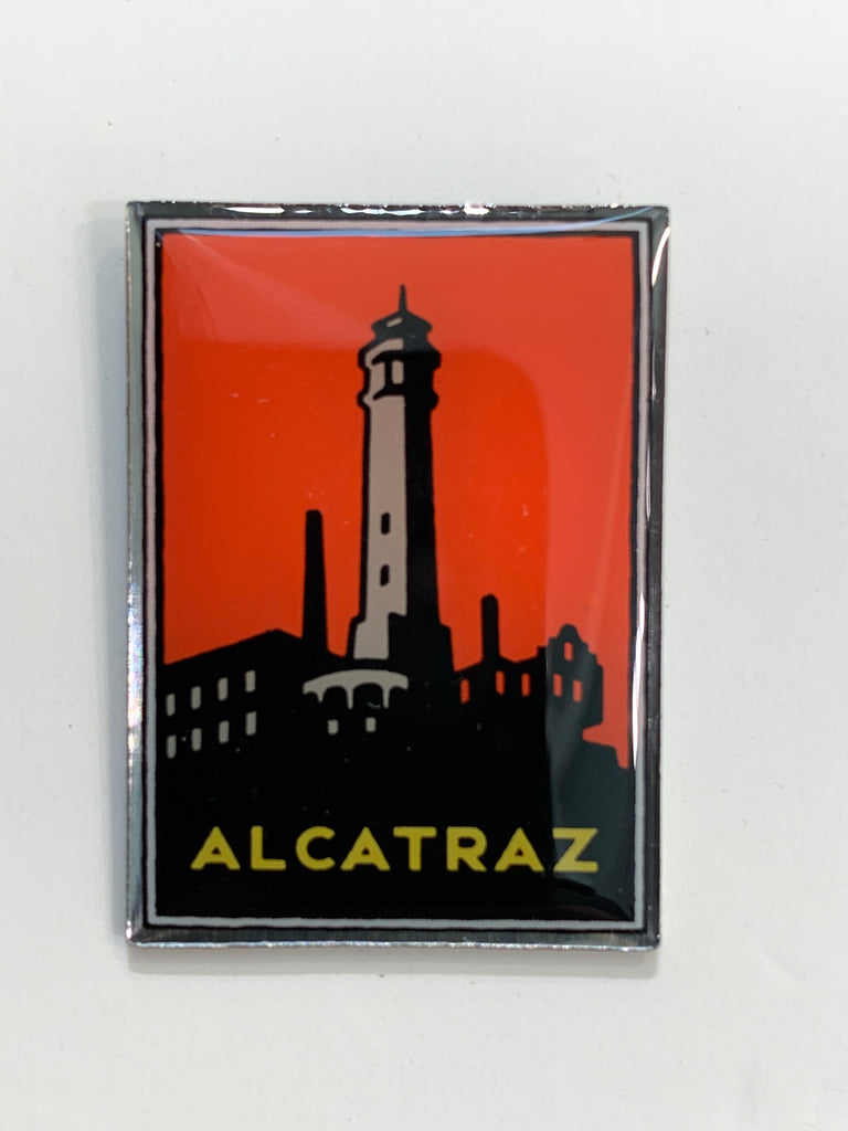 Golden Gate National Parks Alcatraz Pin