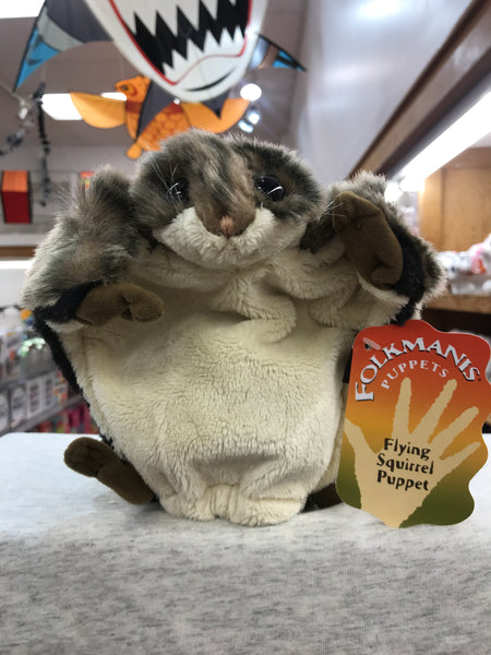 Flying Squirrel Folkmanis Puppet 6""