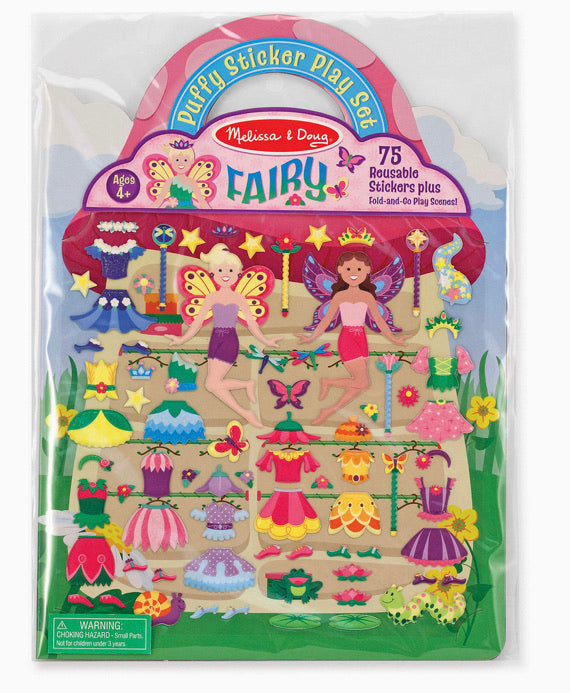 Melissa and Doug Fairy Puffy Sticker Play Set