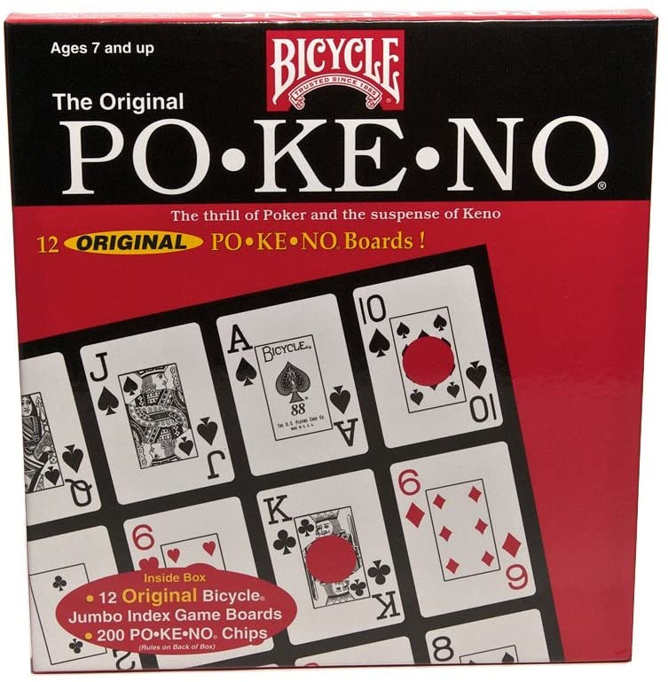 PO•KE•NO. The a Thrill of Poker and the Suspense of Keno