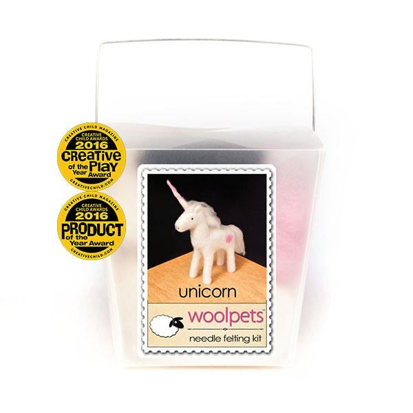 Woolpets Unicorn Needle Felting Kit