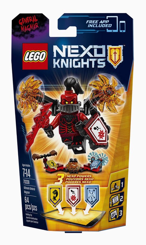 LEGO Nexo Nights General Magmar