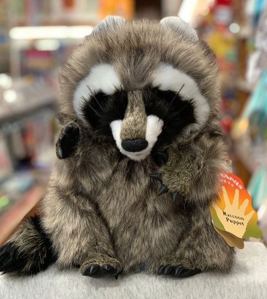Folkmanis Racoon Hand Puppet 13""