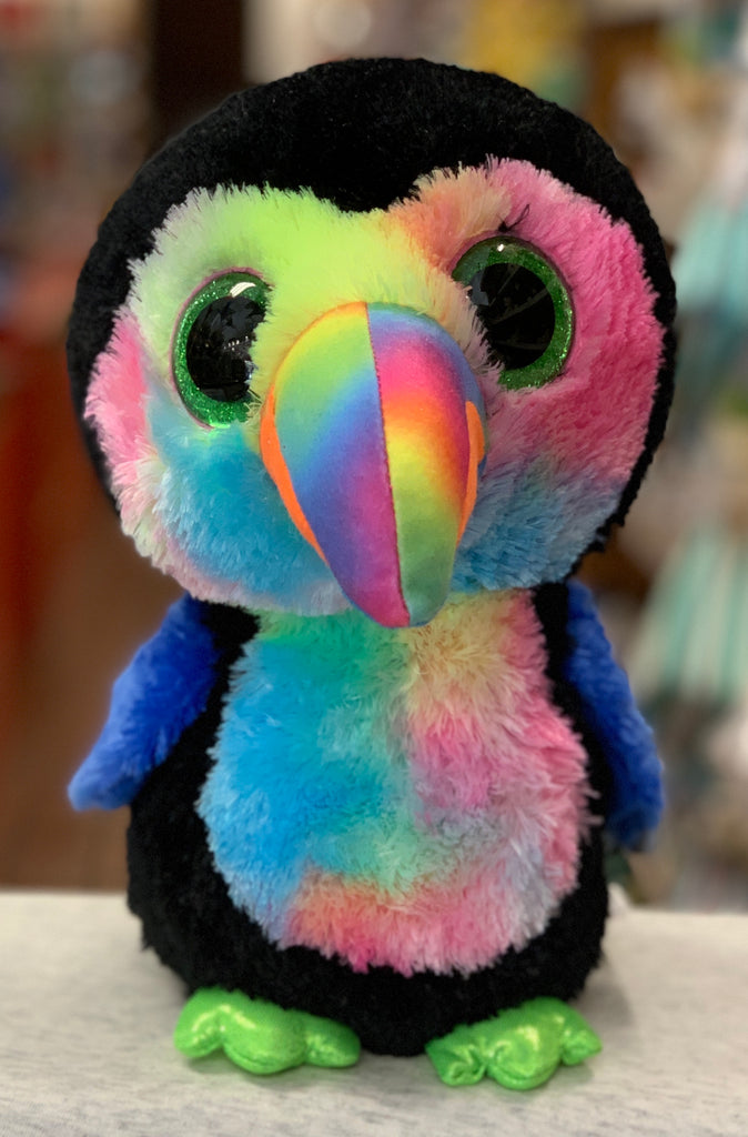 Ty Beanie Boo Medium Beaks Toucan  Plush 13""