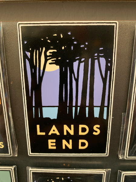 San Francisco Lands End Magnet