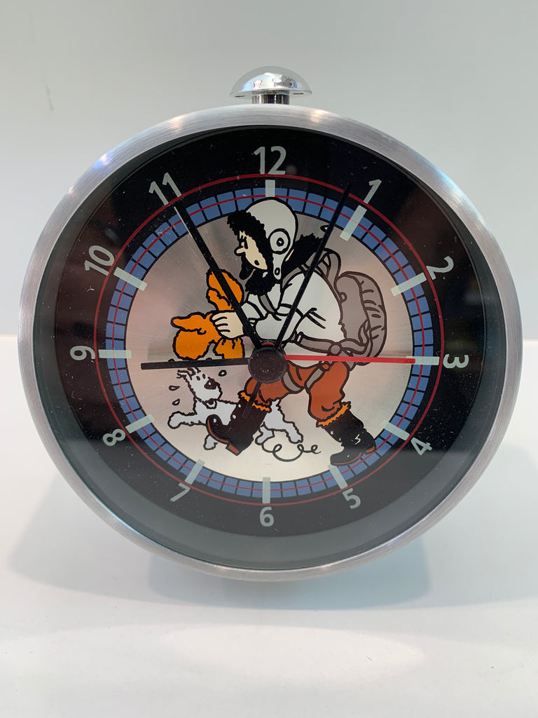 Tintin Flight Ready Alarm Clock
