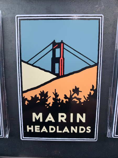 Marin Headlands Magnet
