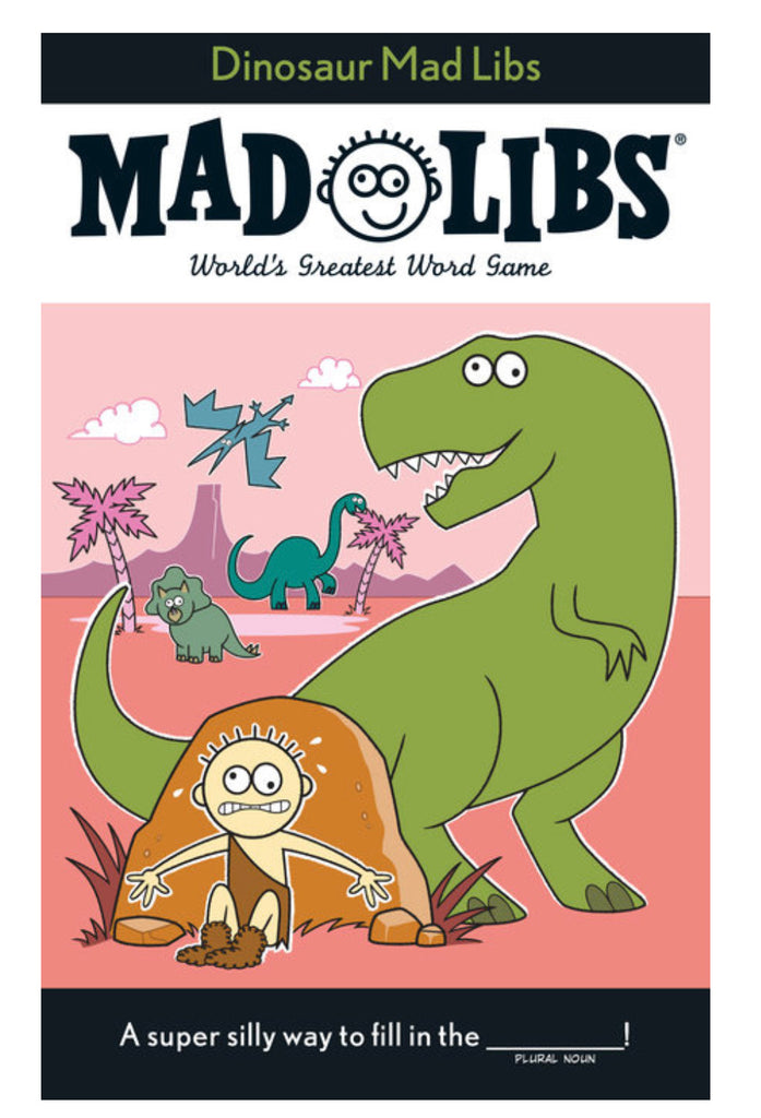 MAD LIBS Dinosaur