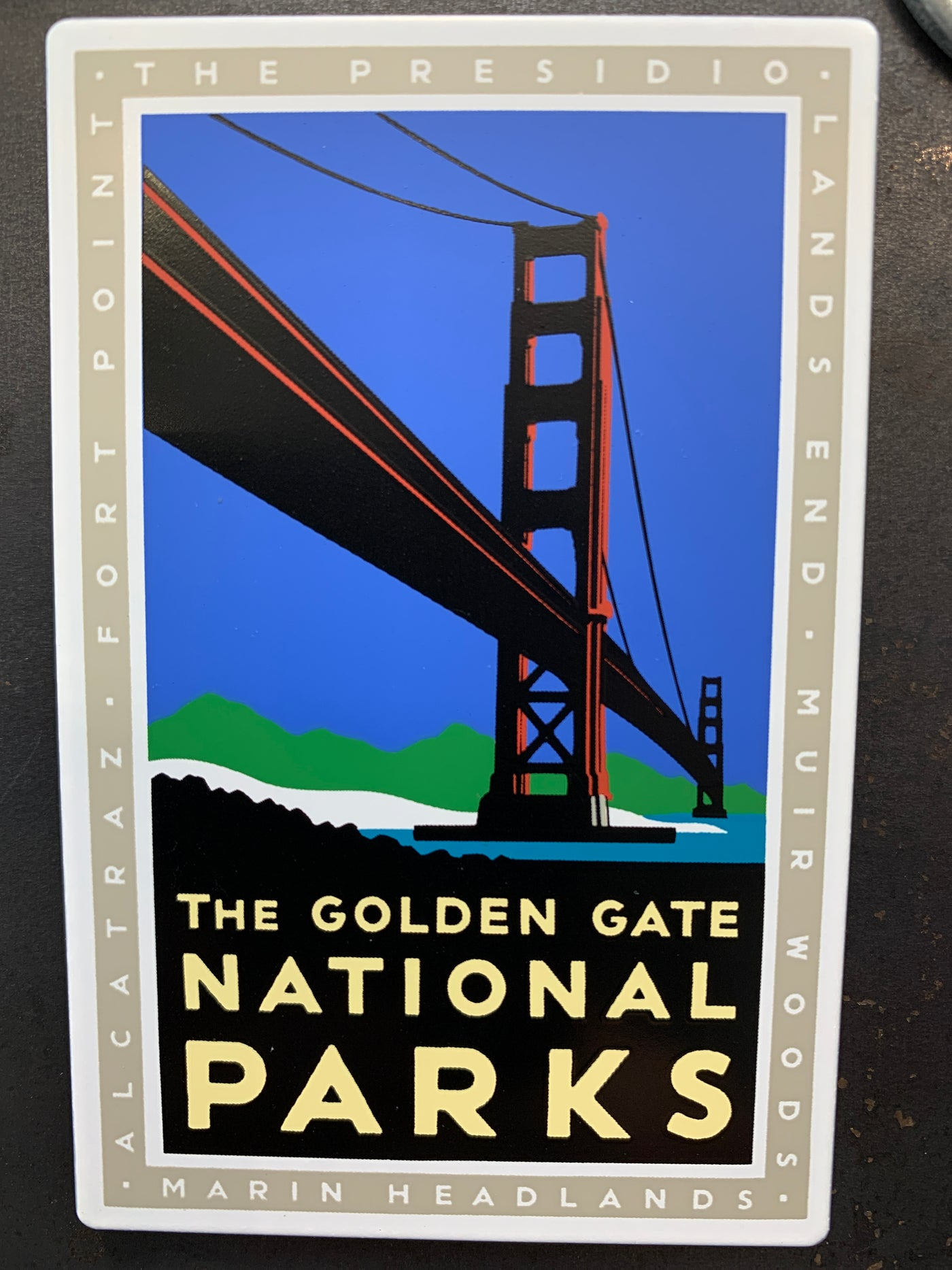 The Golden Gate National Parks Magnet