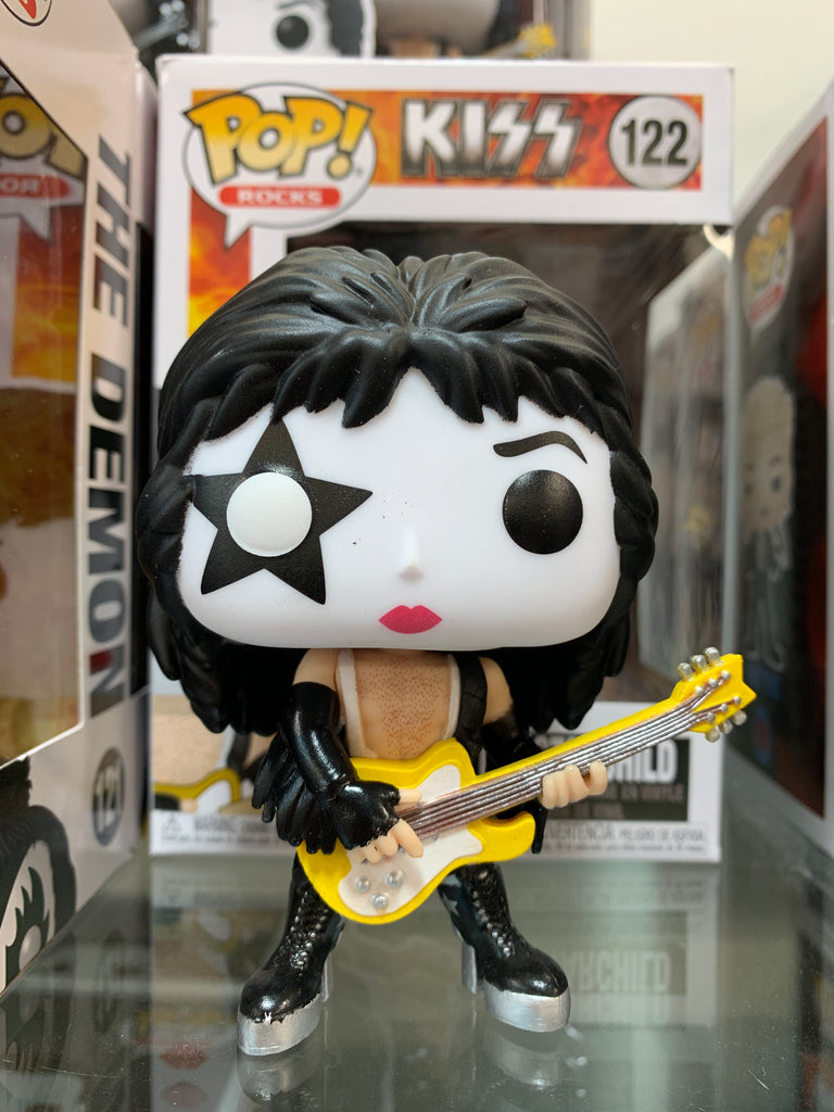 Funko Pop Rocks, KISS, The Starchild #122