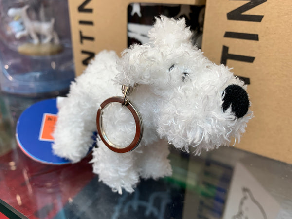 "Plush Snowy Soft - 3"" keychain"