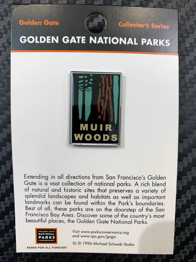 Golden Gate National Parks Muir Woods Pin