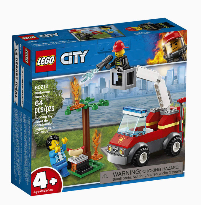 LEGO City Barbecue Burn Out