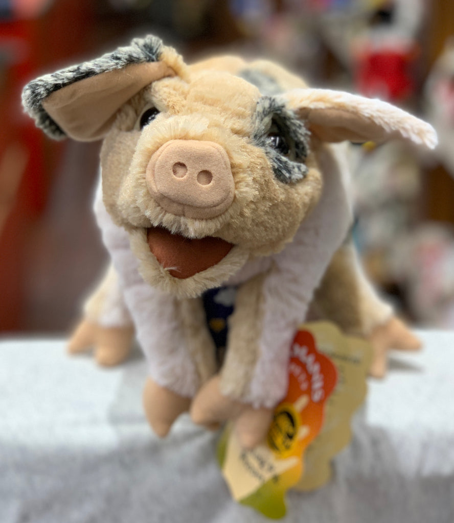 Folkmanis Grunting Pig Puppet 6""