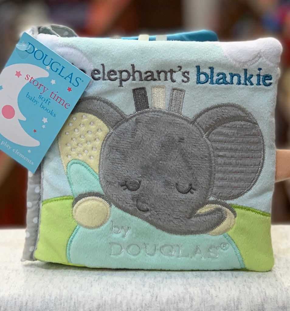Douglas Grey Elephant Soft Baby Activity Book