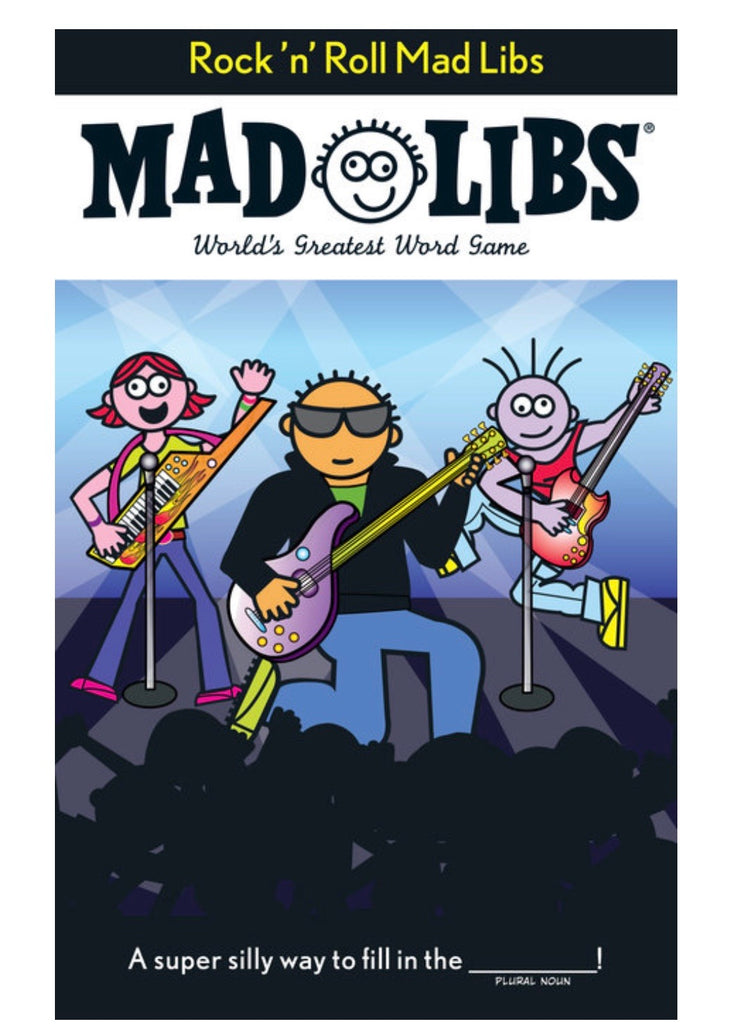 MAD LIBS Rock 'n' Roll