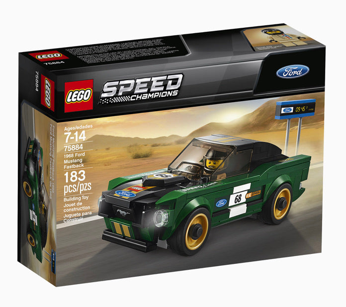 LEGO Speed Champions 1968 Ford Mustang Fastback