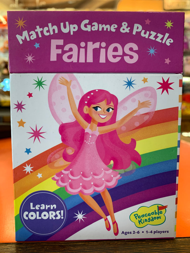Fairies Match Up Game And Puzzle