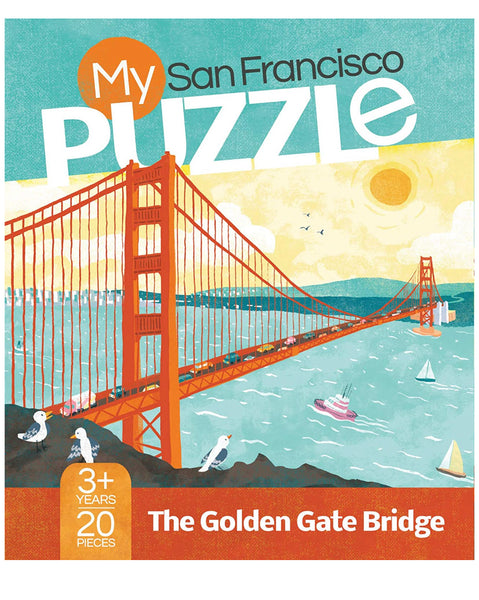 My San Francisco Puzzle The Golden Gate Bridge