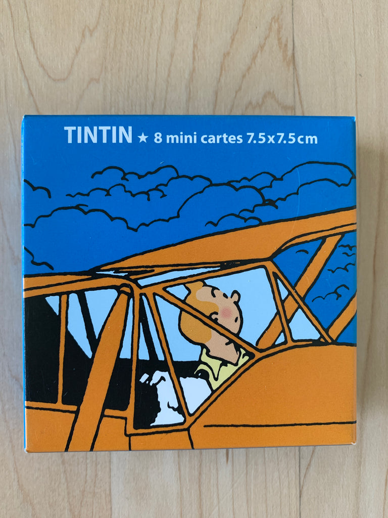 Tintin Mini Gift Note Cards
