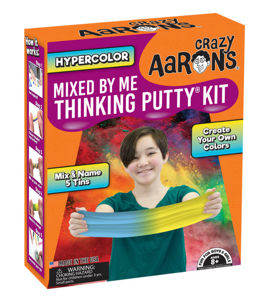 Crazy Aaron's Hypercolor Mixed By Me Thinking Putty Kit