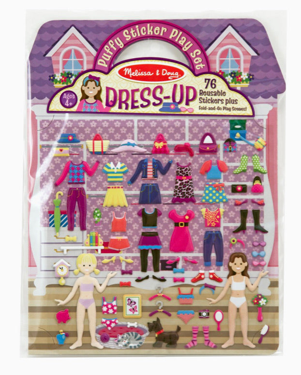 Melissa and Doug Dress Up Puff Sticker Play Set
