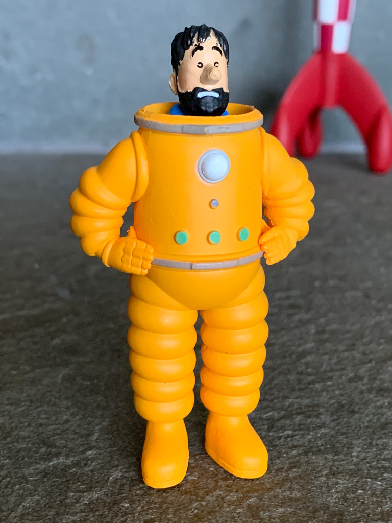 Captain Haddock Moon Figure