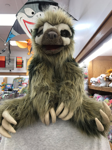 Three-toed Sloth Folkmanis Puppet 20""
