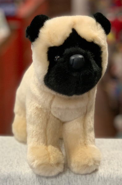 Douglas Bardo Pug Dog Plush 10""