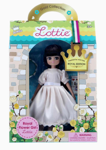 Lottie Royal Flower Girl Doll