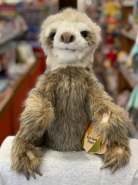 Folkmanis Baby Sloth Hand Puppet 15""