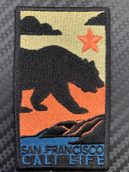 San Francisco Cali Life Embroidered Patch
