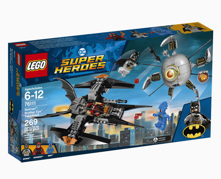 LEGO DC Super Heroes Batman Brother Eye Takedown
