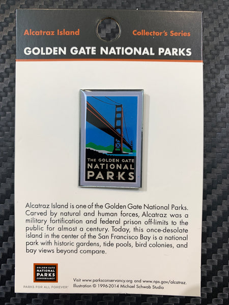 The Golden Gate National Parks Pin